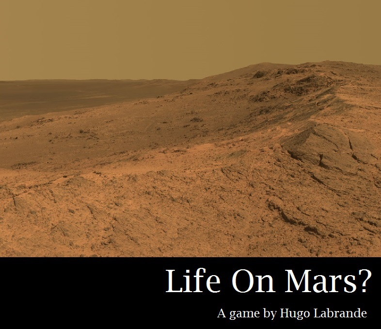 Couverture de Life on Mars ?