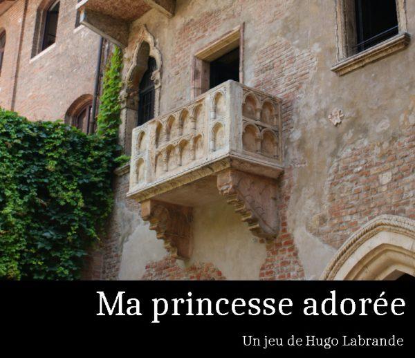 Couverture de Ma Princesse adorée
