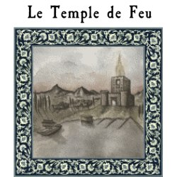 Couverture du Temple de Feu