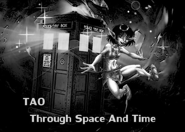 Couverture de Tao through space and time