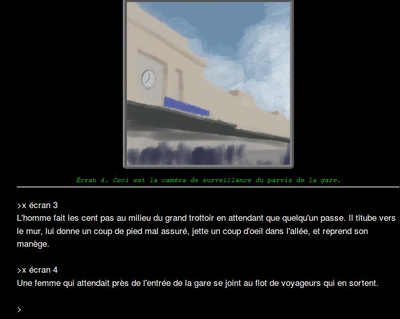 Capture d'écran de Panoptique.