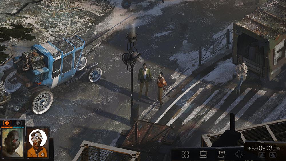 Capture d'écran de Disco Elysium.
