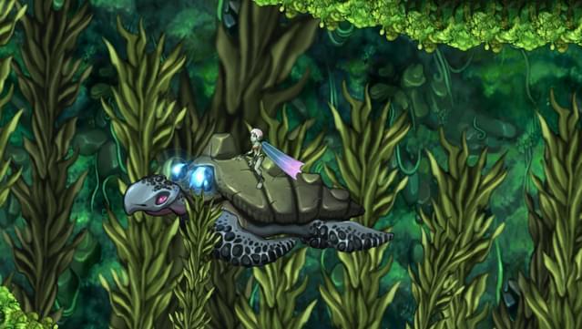 Capture d'écran d'Aquaria.