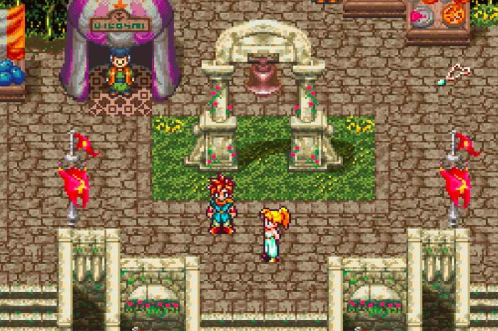 Capture d'écran de Chrono Trigger.