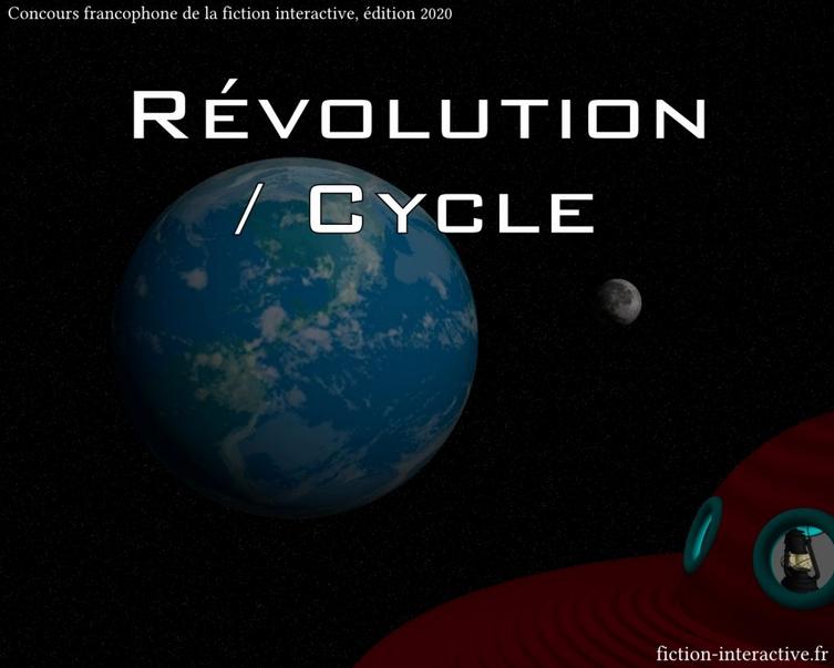 Image d'illustration du concours 2020, dont le thème était révolution/cycle.