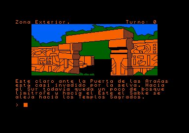 Capture d'écran de Chichen Itza.
