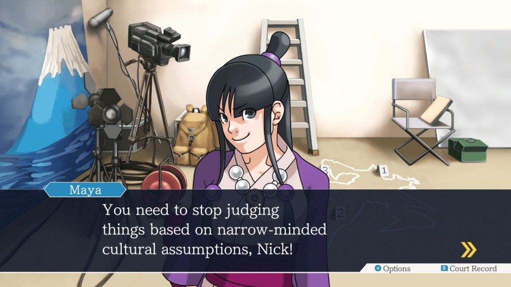 Image tirée du jeu Ace Attorney: Phoenix Wright